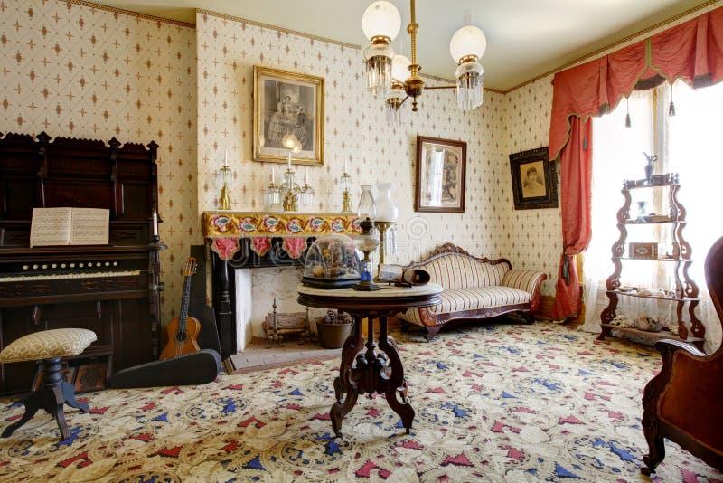 A casa assombrada de San Diego Museu da casa de Whaley, cidade velha imagem de stock royalty free