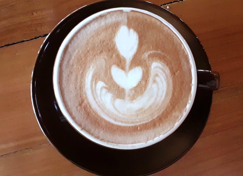 A casa atrasada do café fez, caramelo atrasado especial foto de stock royalty free