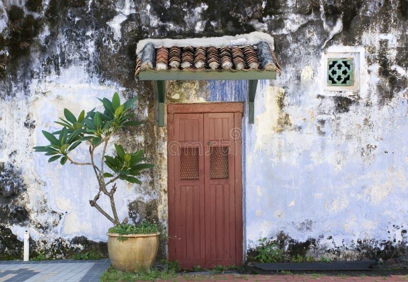 Casa azul, Penang, Malasia imágenes de archivo libres de regalías