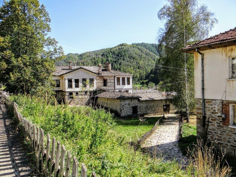 Casa búlgara imagem de stock