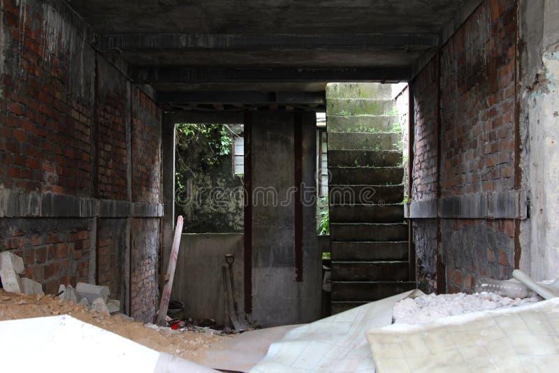 Casa bajo construcción imagen de archivo libre de regalías