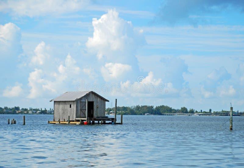 Casa barco imagen de archivo