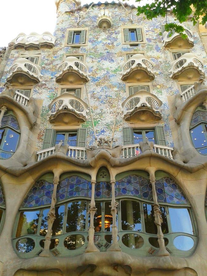 Casa Batllà ³, Barcelona stock foto