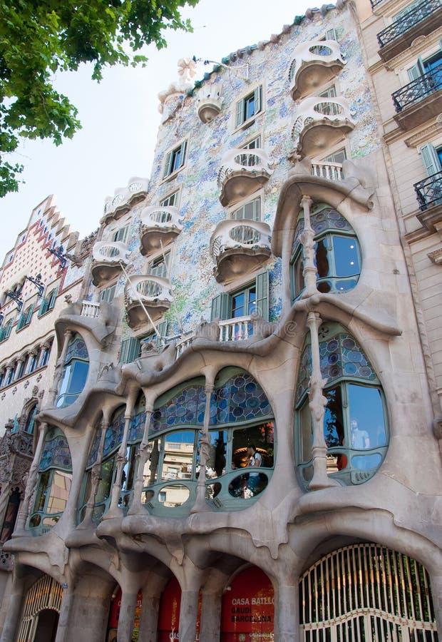 Casa BatllÃ-³, Barcelona lizenzfreie stockbilder