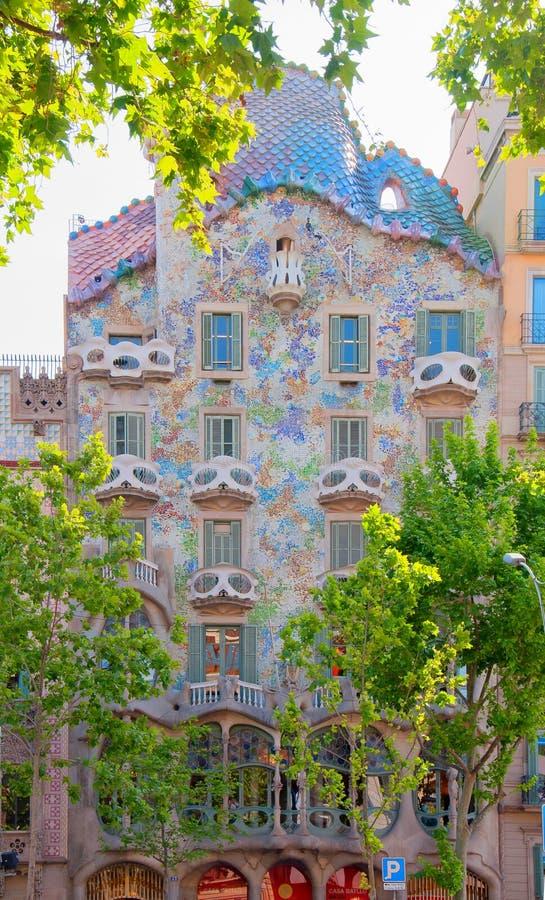 Casa BatllÃ-³, Barcelona lizenzfreie stockfotos