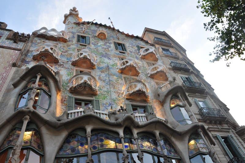 Casa Batlló imagens de stock royalty free