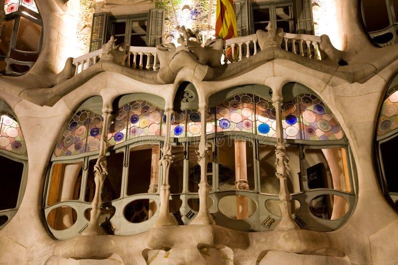 Casa Batllo, Barcelona stock photography