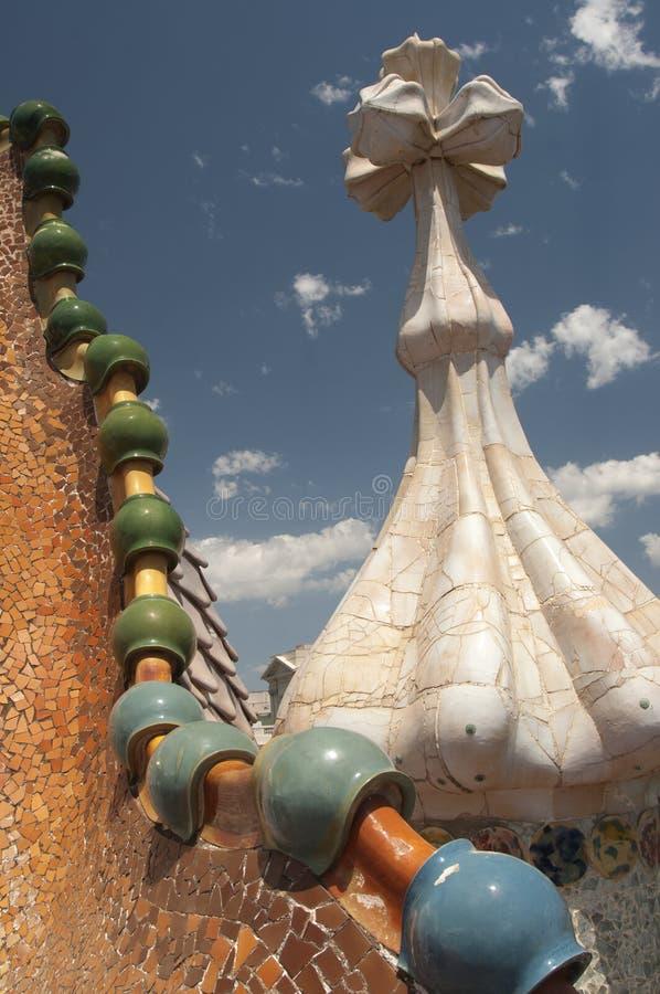 Casa Batllo, Barcelona royalty free stock images