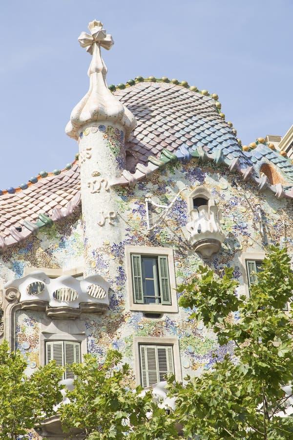 Casa Batllo in Barcelona. Spain stock photos