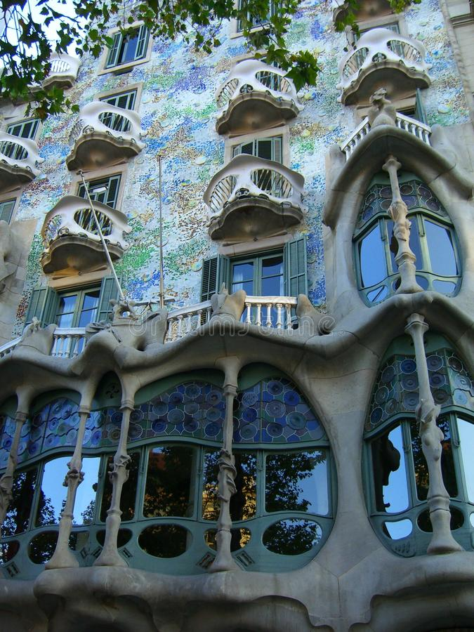 Casa Batllo, Barcelona stock photos
