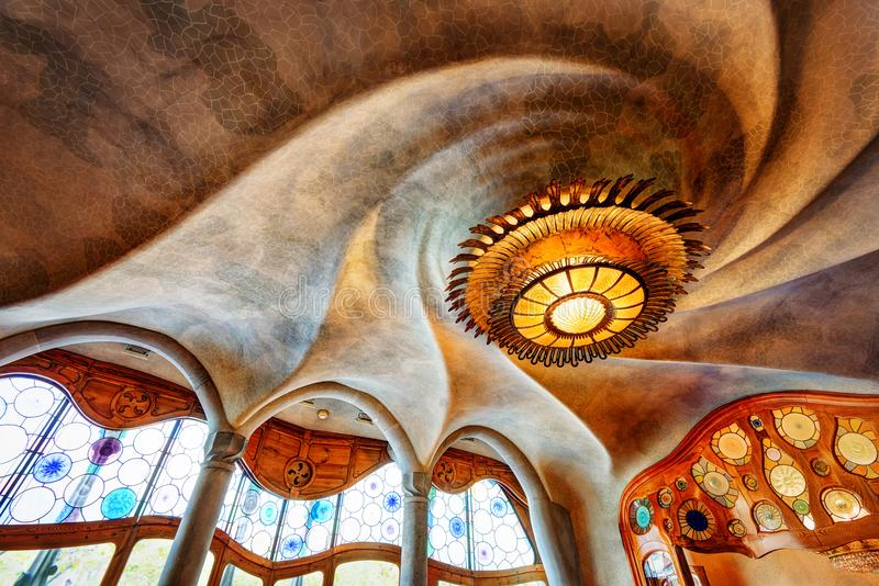 Casa Batllo Barcelona Spain stock photography