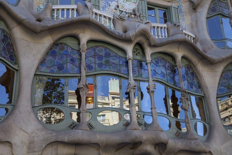 Casa Batllo en Barcelona fotos de archivo libres de regalías