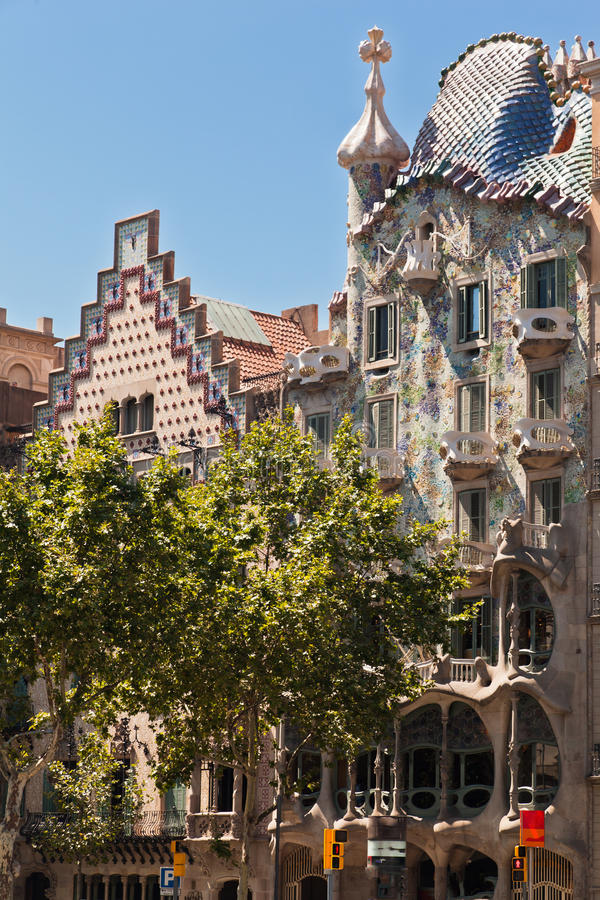 Download Casa Batlo Facade Barcelona Spain Stock Image - Image: 24635293