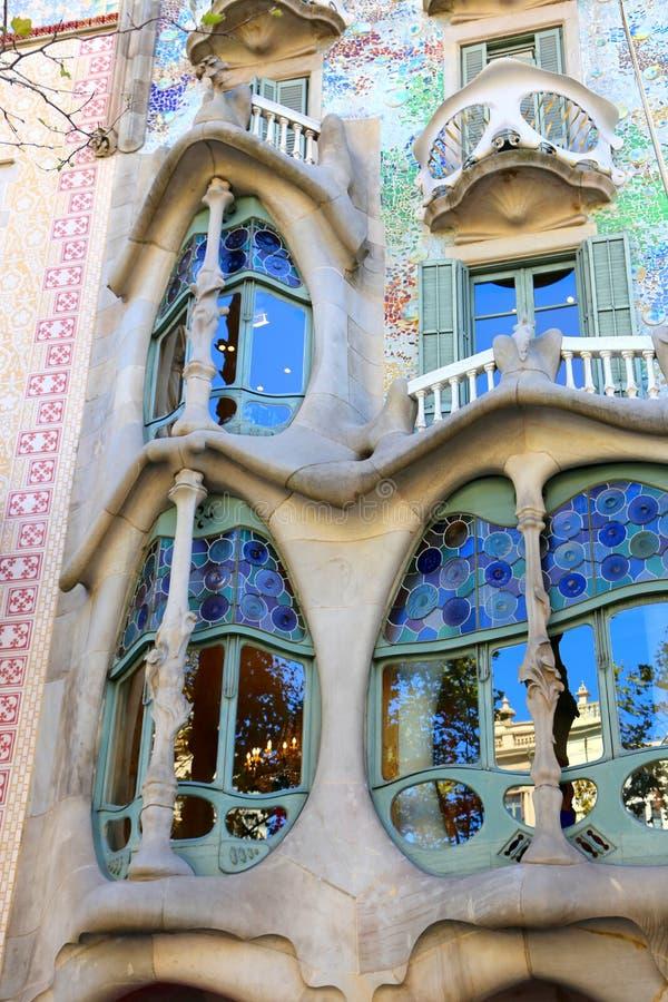Casa Battlo - Barcellona immagine stock