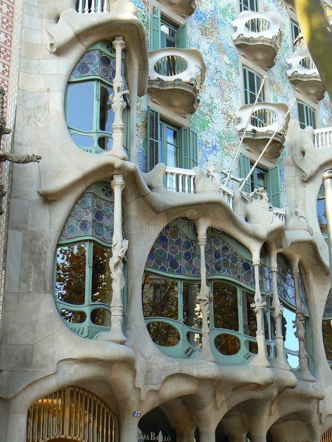Download Casa Battlo in Barcelona stock image. Image of josep - 16232543