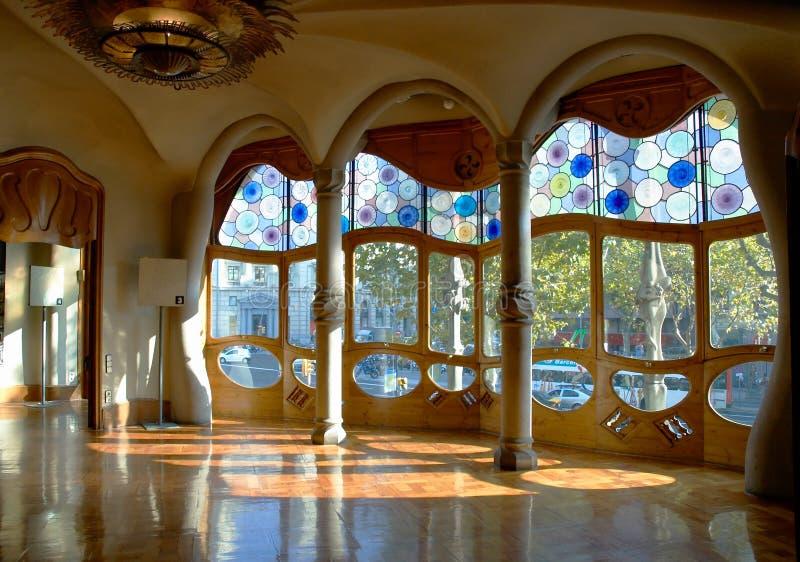 Casa Battlo, Interior royalty free stock images