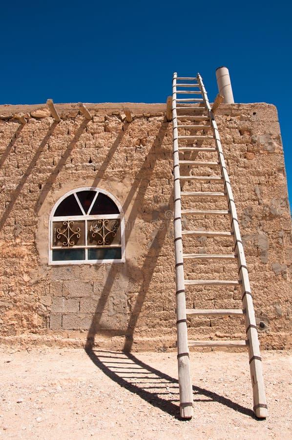 Casa beduina foto de archivo libre de regalías