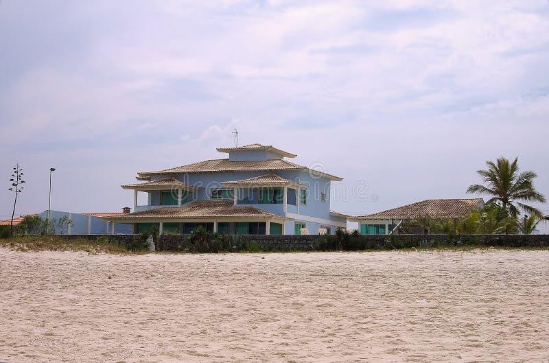 Casa Beira-mar Imagem de Stock