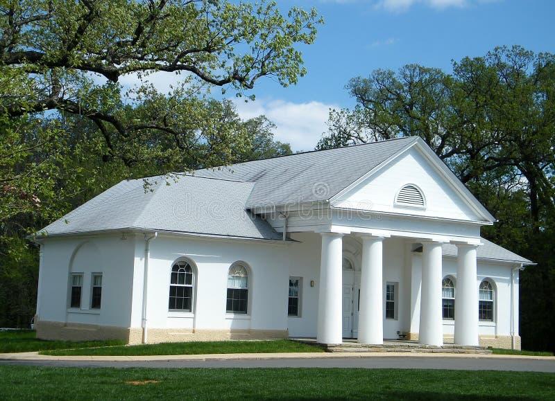 Casa bianca 2010 del cimitero di Arlington fotografie stock