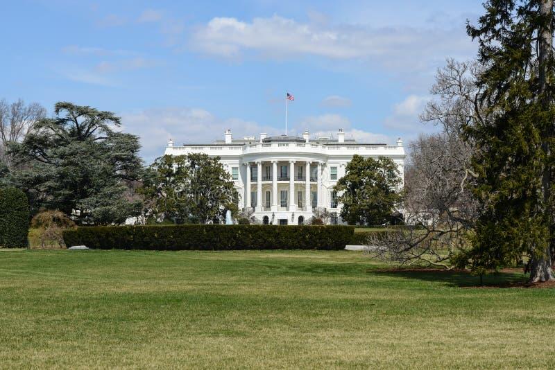 Casa Blanca de los Estados Unidos foto de archivo libre de regalías