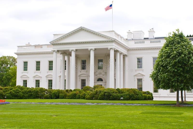 Casa blanca en los E.E.U.U. Washington de capital, C.C. imagenes de archivo