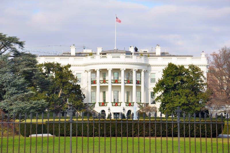 Casa Blanca, Washigton, DC Señal nacional de los E.E.U.U. foto de archivo libre de regalías