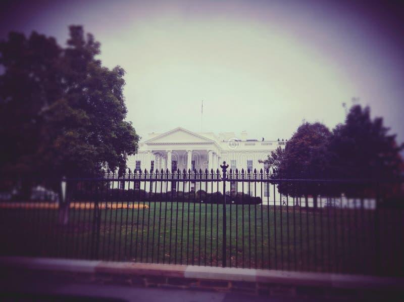 A casa branca imagem de stock