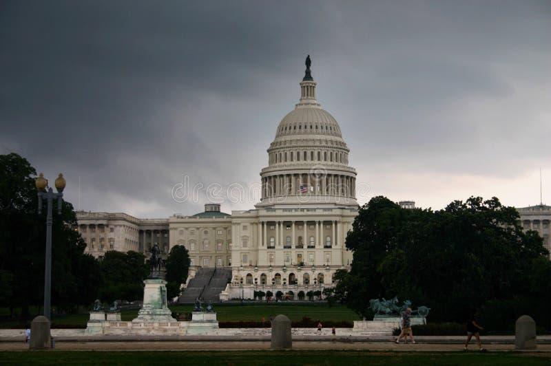 A casa branca em Washington fotografia de stock royalty free