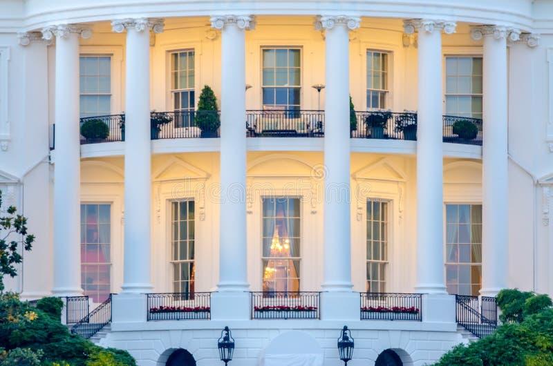 A casa branca no Washington DC imagens de stock