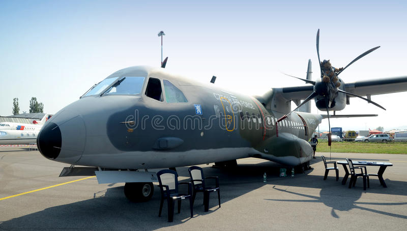 Download Casa C 295M - Twin- Turboprop - Editorial Stock Photo - Image: 21053073