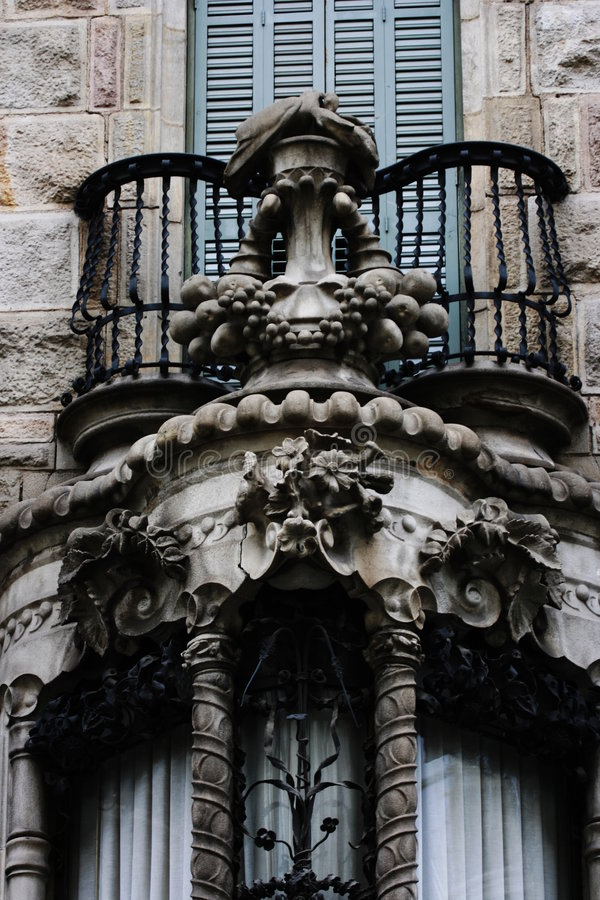 Casa Calvet royalty-vrije stock afbeeldingen