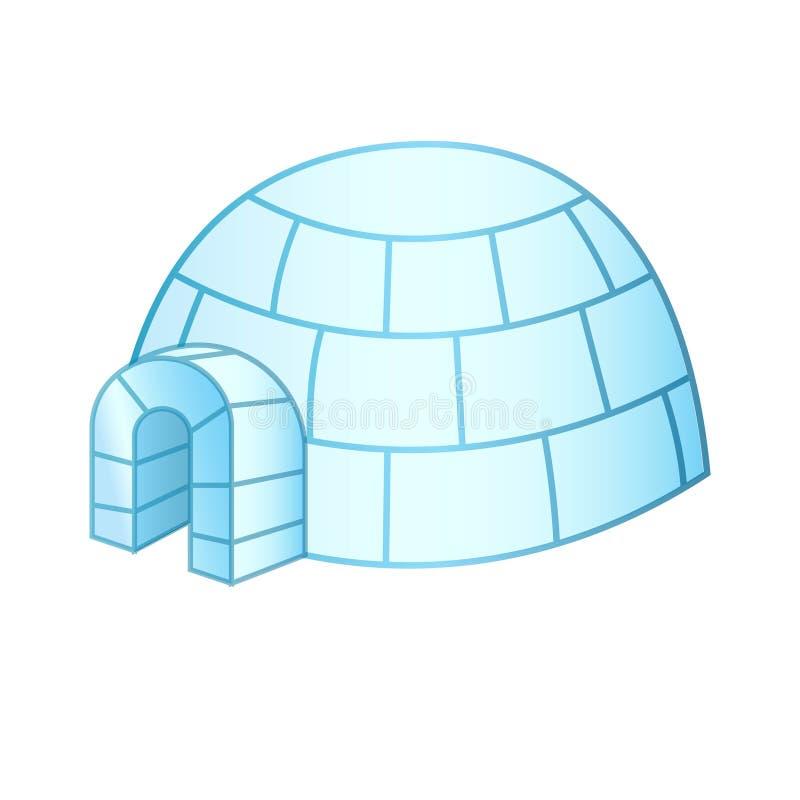 Casa Canada e Groenlandia dell'iglù illustrazione di stock