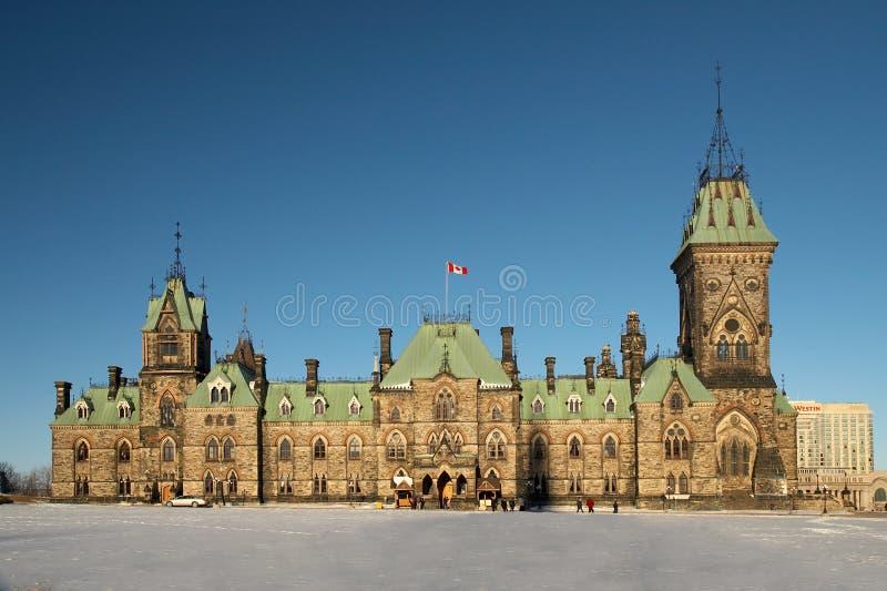 Casa canadiense del parlamento imagenes de archivo