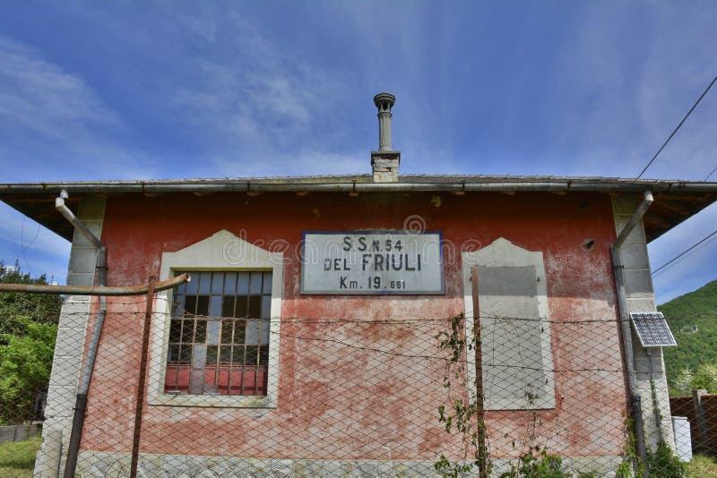 Casa Cantoniera σε Soravilla στοκ εικόνες με δικαίωμα ελεύθερης χρήσης