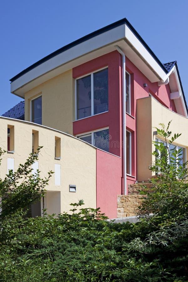 Casa, casa separada con estilo foto de archivo