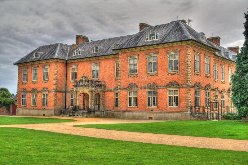 Casa casera majestuosa de Tredegar del siglo XVII imagen de archivo