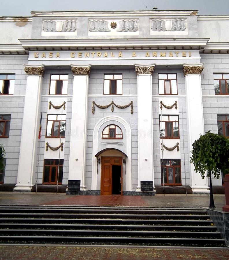 Casa central del ejército fotos de archivo libres de regalías