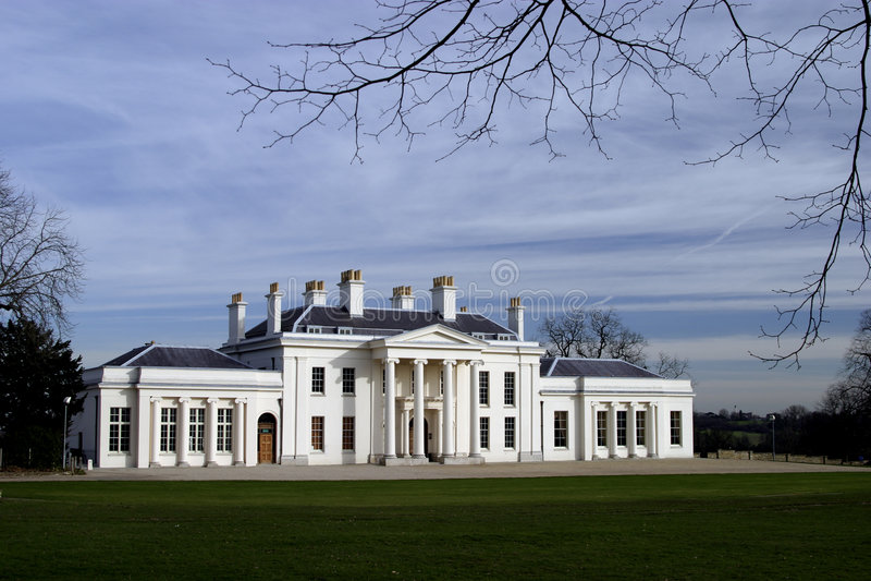 Casa Chelmsford de Hylands foto de stock royalty free