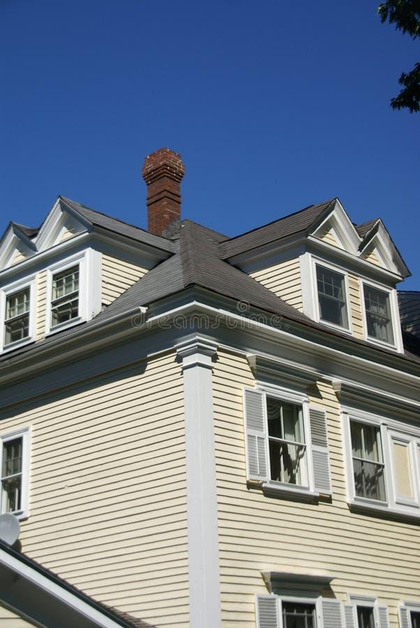 Casa clásica de Nueva Inglaterra foto de archivo libre de regalías
