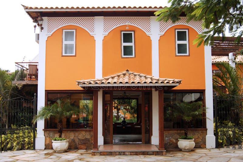 Casa colonial foto de archivo