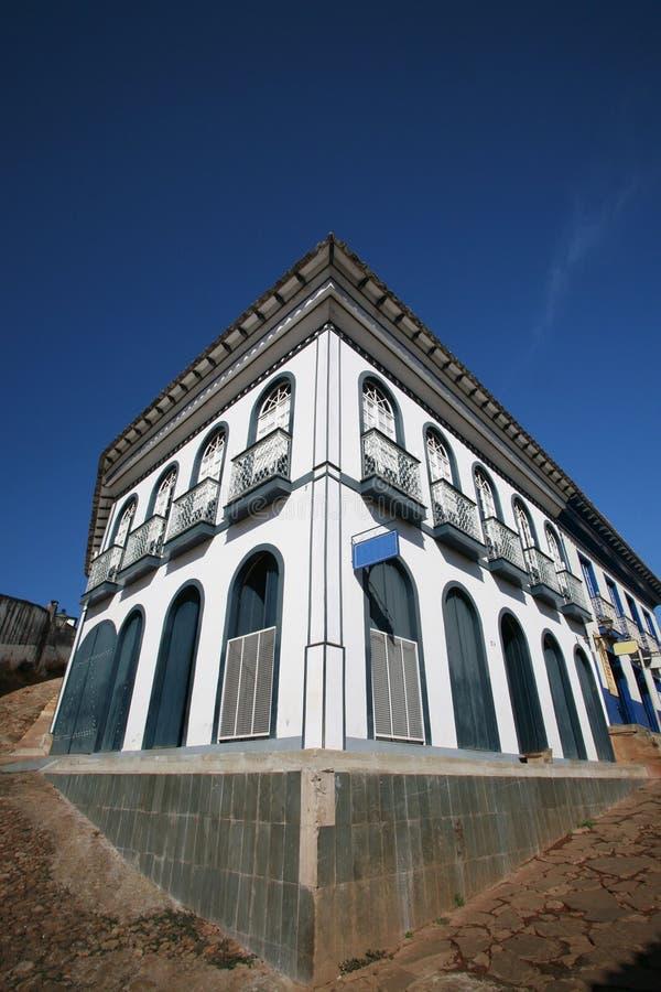 Casa colonial fotografia de stock royalty free