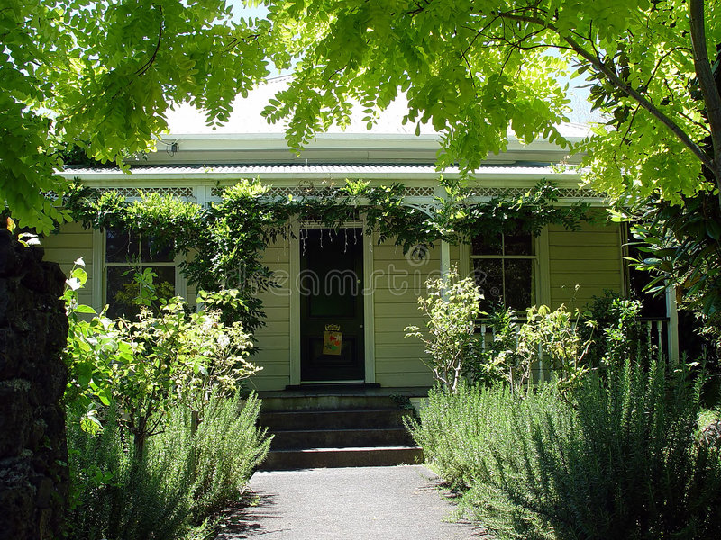 Casa colonial 2 fotos de stock royalty free