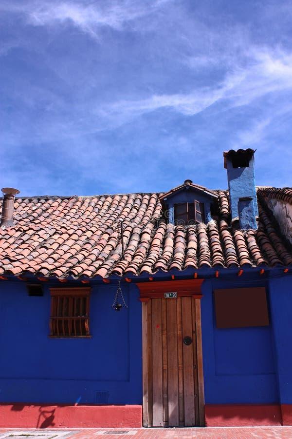 Casa colonial espanhola foto de stock