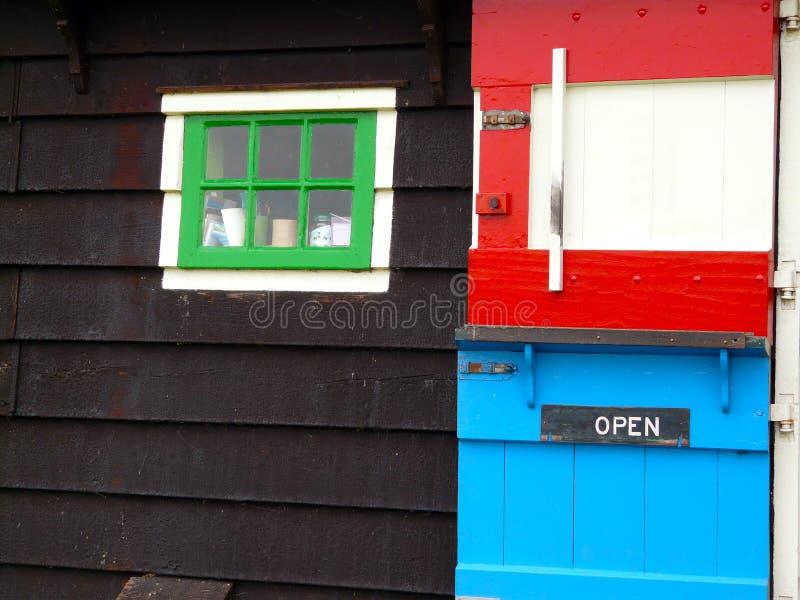 Casa colorida - detalhe foto de stock