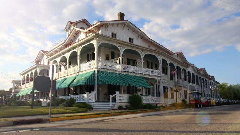 Casa colorida do Vitoriano-estilo fotografia de stock royalty free