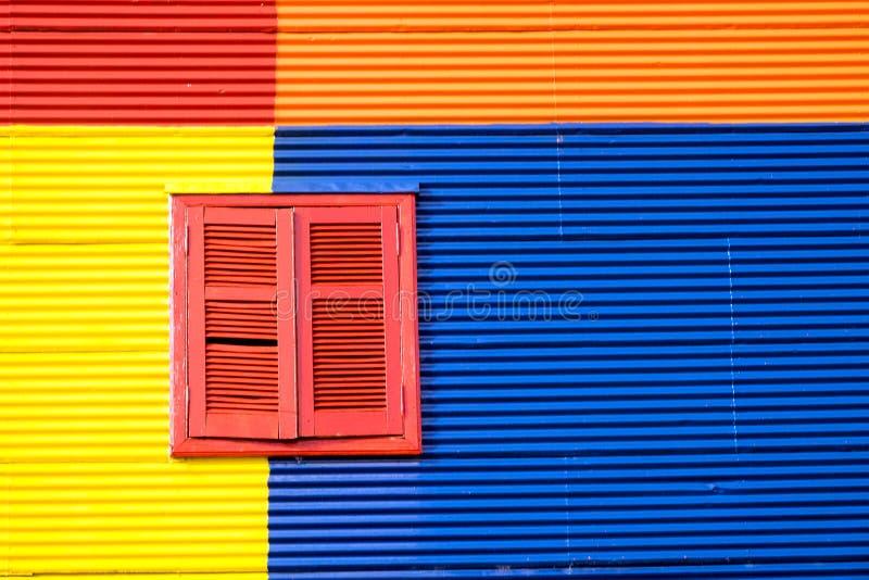 Casa colorida no La Boca, Buenos Aires fotos de stock