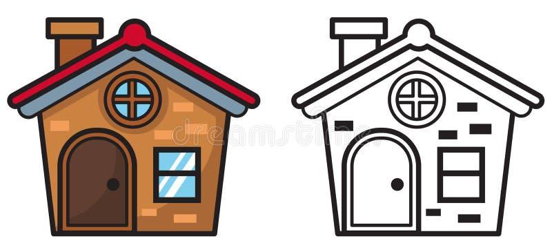 Para Colorear Casa. Pagina Para Colorear Casa En Pueblo Para Pagina ...