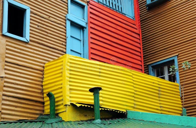 Casa Colourful del caminito fotografia stock