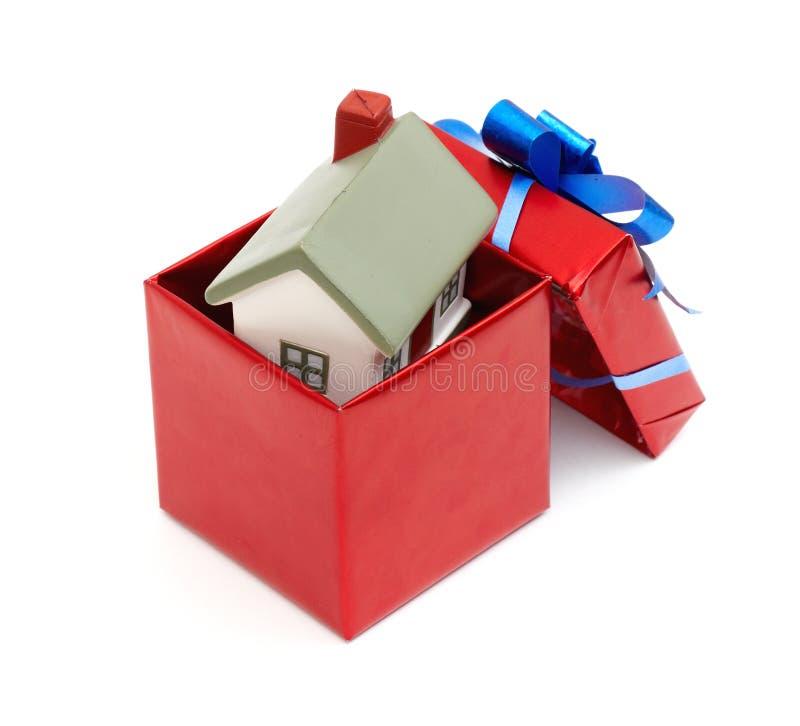 Casa Como Regalo Para Usted Fotos de archivo libres de regalías