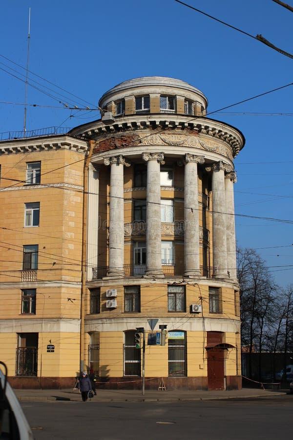 Casa con arquitectura clásica de la Rotonda fotos de archivo